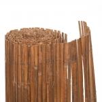 Καλαμωτή Bamboo Σχιστό 10-15mm Με Σύρμα Γαλβανιζέ 100Χ500cm