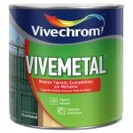 Vivemetal Satin Μαύρο 750ml
