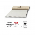 Σπάτουλα Πλακάδων Με Τετράγωνο Δόντι 10x10mm 200mm L'Outil Parfait 5612
